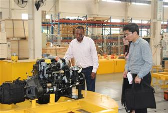 Ethiopia customer visit wolwa group