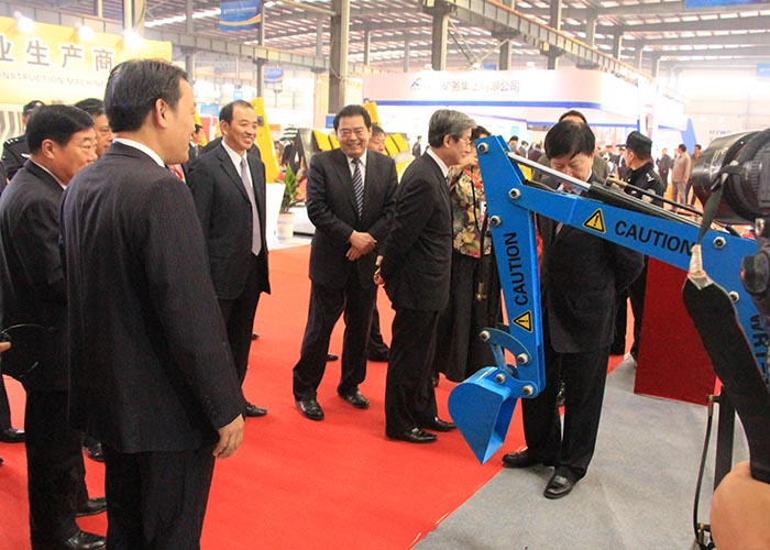 Wolwa Group made a surprise appearance at The 3rd China (Xuzhou) International Construction Machinery Fair