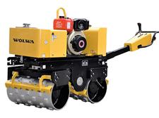 0.90 ton wolwa walking type groove compactor